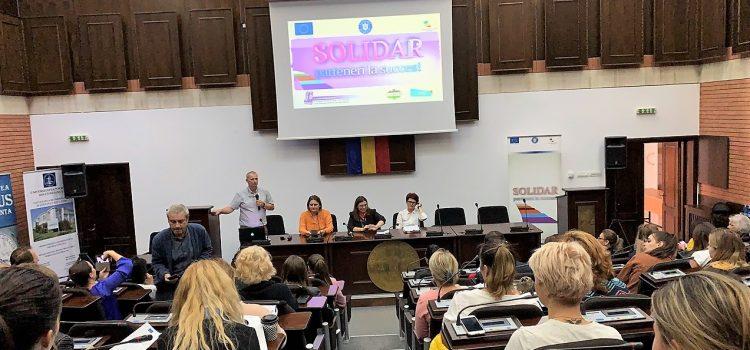 Solidar la Universitatea Ovidius – Constanța